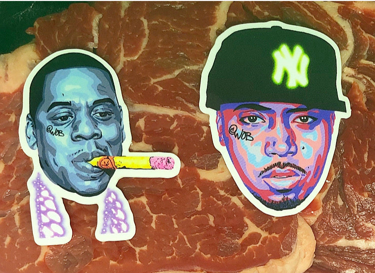 What's The Beef (Jay v Nas) Limited Edition Sticker Collection