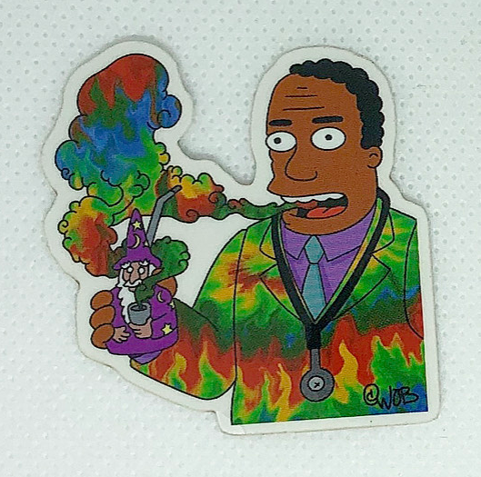 Springfield Medicinal Limited Edition Sticker Collection