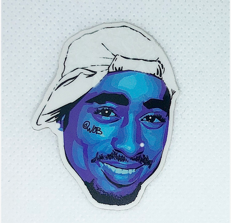 What's The Beef (BIG v Tupac) Limited Edition Sticker Collection