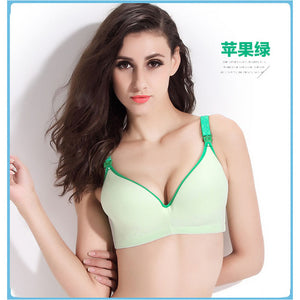 34-40 BC Breastfeeding cotton Maternity Nursing Bra sleep bras for nursing pregnant women soutien gorge allaitement underwear