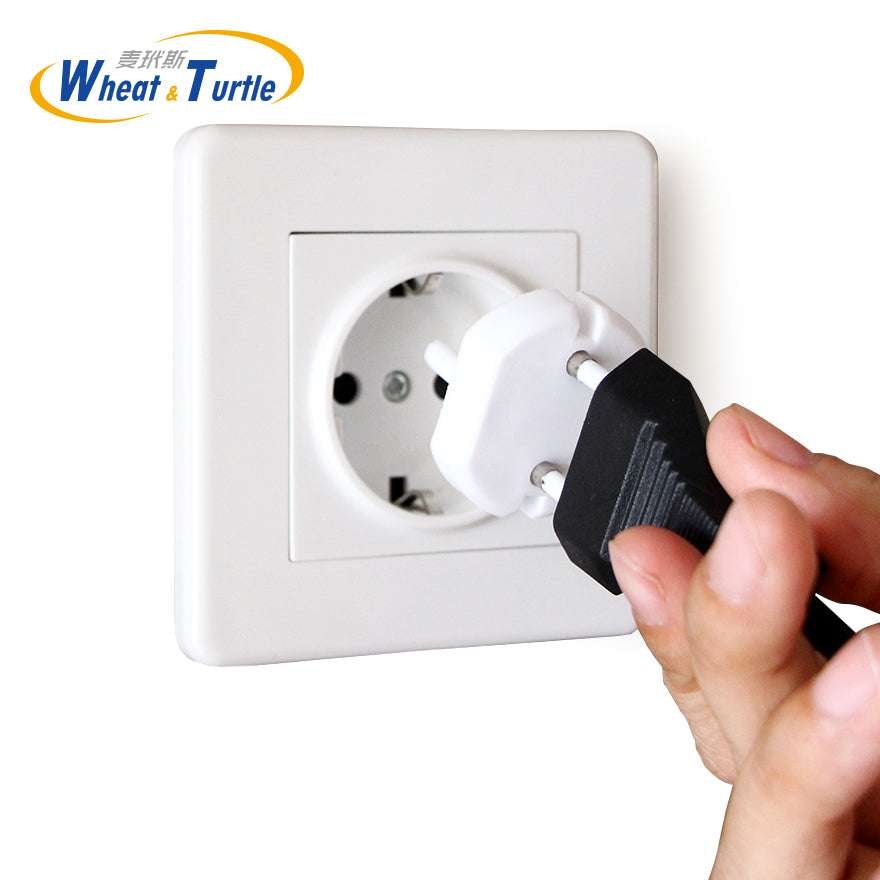 5Pcs/Lot Europe Standard Sockets Cover Baby Children Protection Against Electric Shock ABS Plug Two Pin Phase Outlet Socket Lock