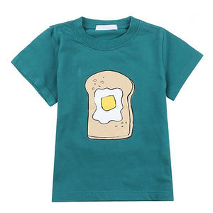 Boys Tees T shirt Children Clothing 2017 Kids Clothes Boys Summer Tops Cartoon Partern Cotton Baby Boy Short Sleeve T-shirts