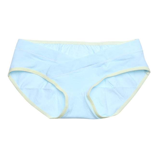 Soft Cotton Maternity Panties Belly Support Panties Pregnant Women Underwear Breathable U-Shaped Low Waist Panty size M L XL XXL