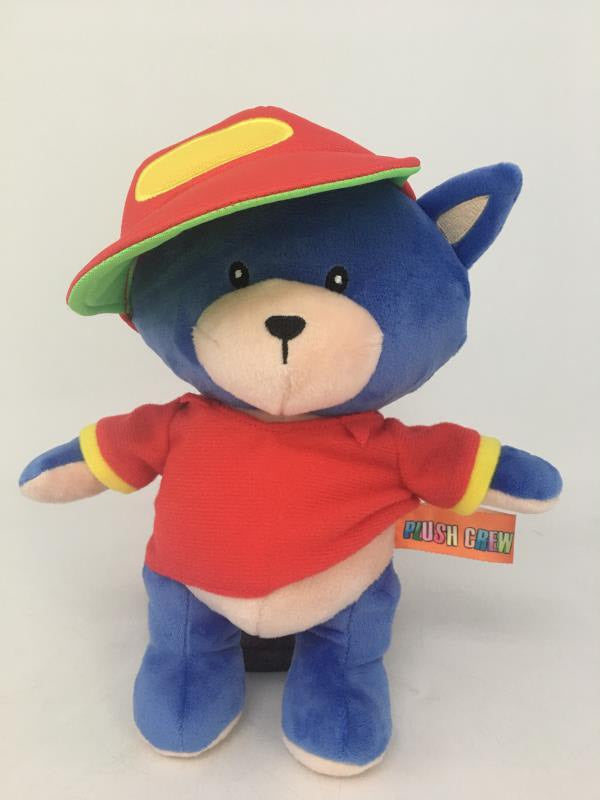 Plush Crew DJ Cool Blue 10