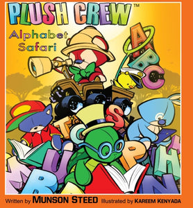 Plush Crew - Alphabet Safari