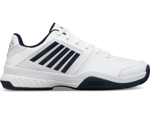 K-Swiss Court Express HB Men's Tennis Shoe (White/Navy) - RacquetGuys