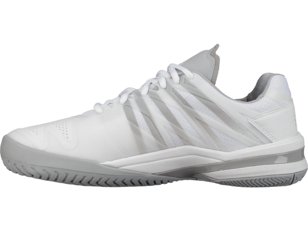 K-Swiss Ultrashot Men's Tennis Shoe (White/High Rise) - RacquetGuys