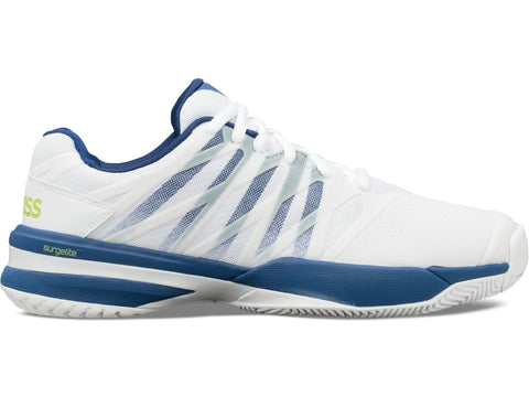 K-Swiss Ultrashot 2 Men's Tennis Shoe (White/Blue) - RacquetGuys