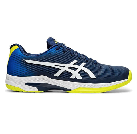Asics Solution Speed FF Men's Tennis Shoe (Blue Expanse/White)