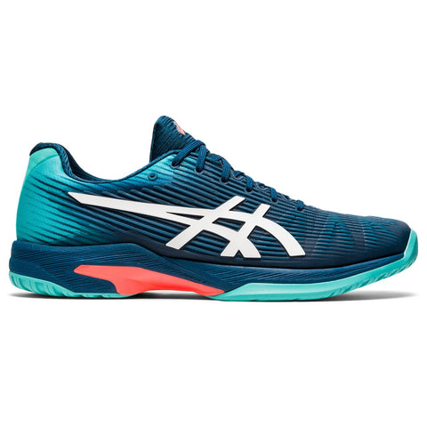 Asics Solution Speed FF Men's Tennis Shoe (Blue/White) - RacquetGuys