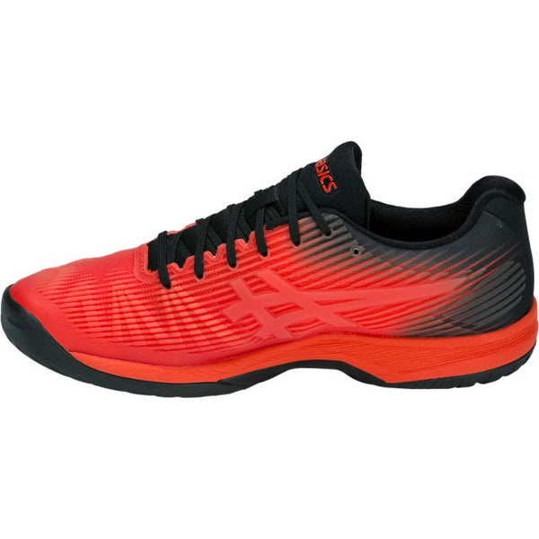 Asics Solution Speed FF Mens Tennis Shoe (Red/Black)