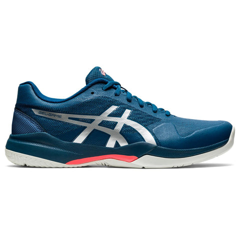 Asics Gel Game 7 Men's Tennis Shoe (Blue) - RacquetGuys