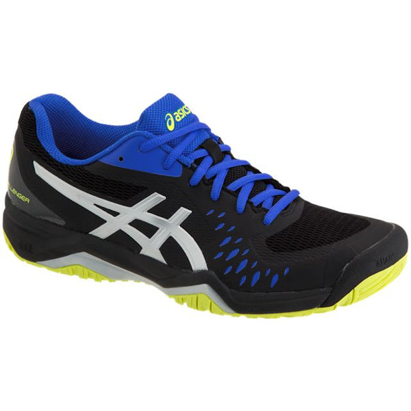 Asics Gel Challenger 12 Mens Tennis Shoe (Black/Silver)