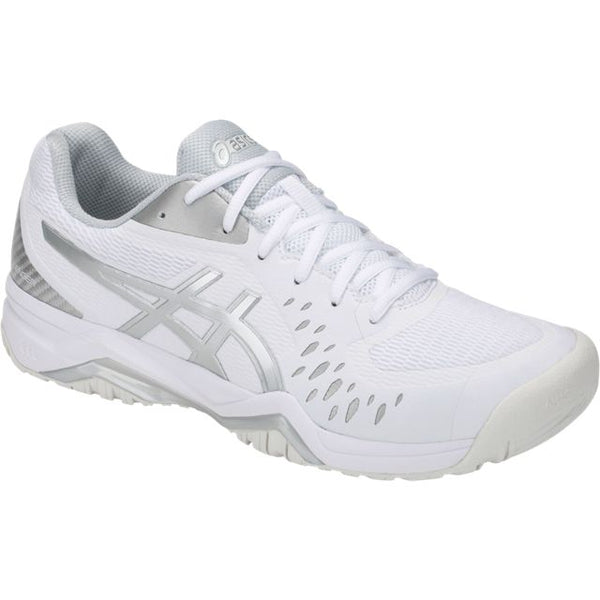 Asics Gel Challenger 12 Mens Tennis Shoe (White/Silver)