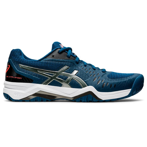 Asics Gel Challenger 12 Men's Tennis Shoe (Blue/Black) - RacquetGuys