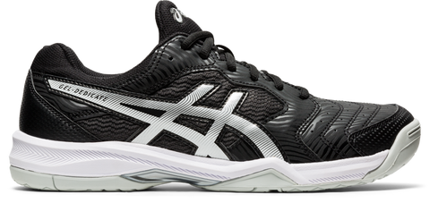 Asics Gel Dedicate 6 Men's Tennis Shoe (Black/White) - RacquetGuys