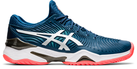 Asics Court FF 2 Men's Tennis Shoe (Mako Blue/White) - RacquetGuys