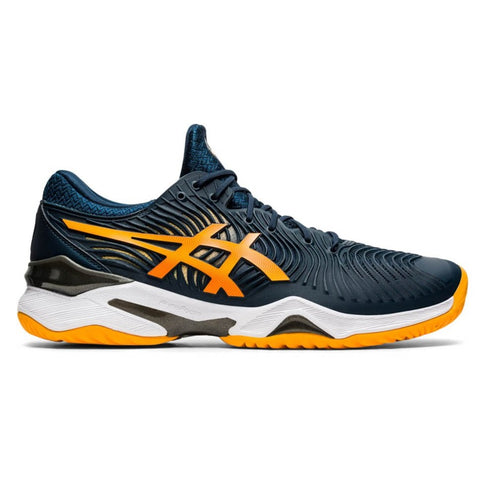 Asics Court FF 2 Men's Tennis Shoe (French Blue/Amber) - RacquetGuys.ca