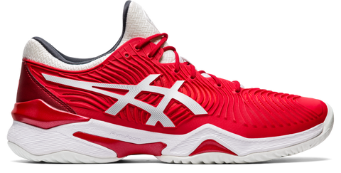 Asics Court FF 2 Novak Men's Tennis Shoe (Classic Red/White) - RacquetGuys