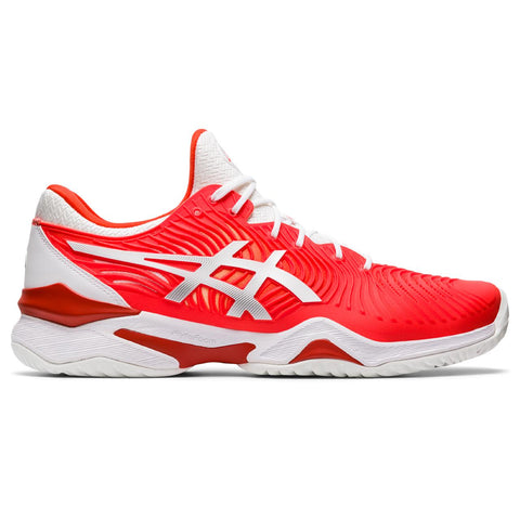 Asics Court FF Novak Men's Tennis Shoe (Red/White) - RacquetGuys