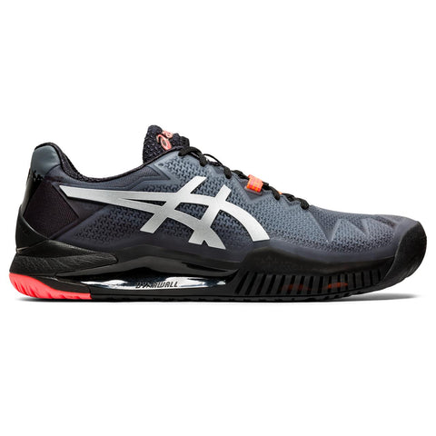 Asics Gel Resolution 8 L.E. Future Tokyo Men's Tennis Shoe (Black/Red) - RacquetGuys
