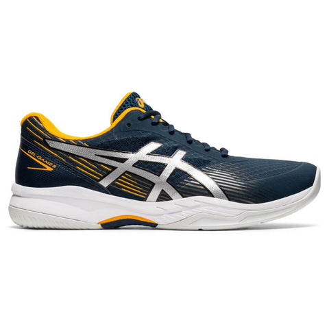 Asics Gel Game 8 Men's Tennis Shoe (French Blue/Pure Silver) - RacquetGuys.ca