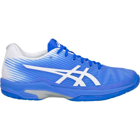 Asics Solution Speed FF Womens Tennis Shoe (Blue/White)