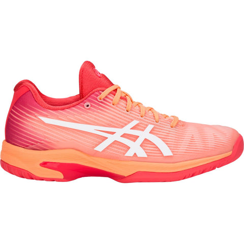 Asics Solution Speed FF Womens Tennis Shoe (Mojave/White)