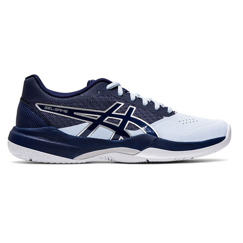 Asics Gel Game 7 Women's Tennis Shoe (Blue) - RacquetGuys.ca