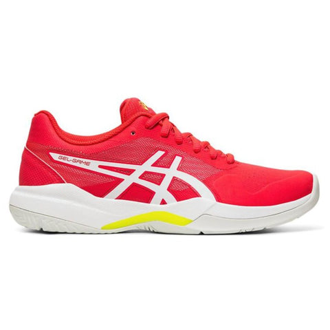 Asics Gel Game 7 Women's Tennis Shoe (Laser/Pink) - RacquetGuys.ca