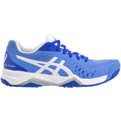 Asics Gel Challenger 12 Womens Tennis Shoe (Blue/White)