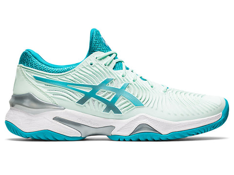 Asics Court FF 2 Women's Tennis Shoe (Mint/White) - RacquetGuys.ca