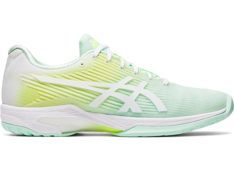 Asics Solution Speed FF LE Womens Tennis Shoe (Mint/White)