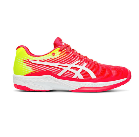 Asics Solution Speed FF Women's Tennis Shoe (Laser Pink/White) - RacquetGuys
