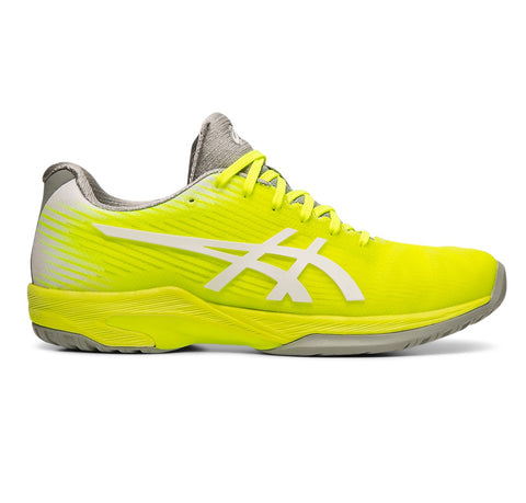 Asics Solution Speed FF Women's Tennis Shoe (Safety Yellow/White) - RacquetGuys.ca
