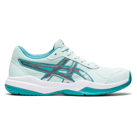 Asics Gel Game 7 GS Junior Tennis Shoe (Mint/White) - RacquetGuys.ca