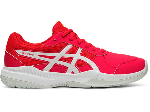 Asics Gel Game Junior Tennis Shoe (Laser Pink/White) - RacquetGuys.ca