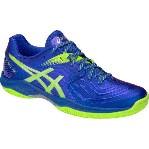 Asics Gel Blast FF Mens Indoor Court Shoe (Blue/Green)