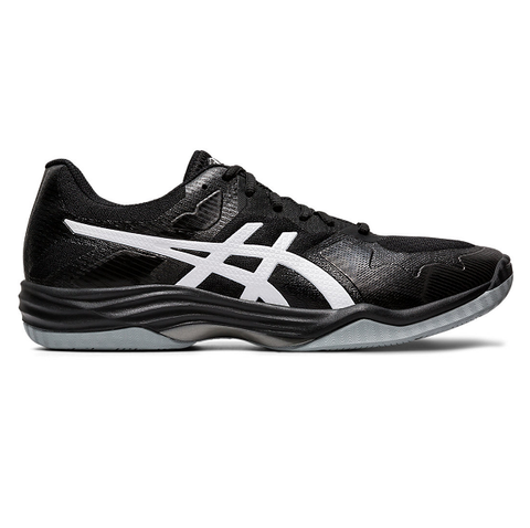 Asics Gel Tactic 2 Men's Indoor Court Shoe (Black/White) - RacquetGuys.ca