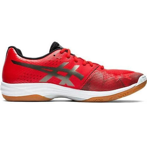 Asics Gel Tactic 2 Men's Indoor Court Shoe (Red/Silver) - RacquetGuys.ca
