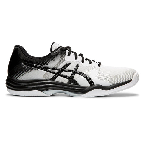 Asics Gel Tactic Men's Indoor Court Shoe (White/Black) - RacquetGuys.ca