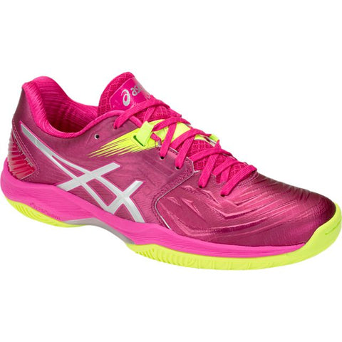 Asics Gel Blast FF Womens Indoor Court Shoe (Pink/Silver) - RacquetGuys