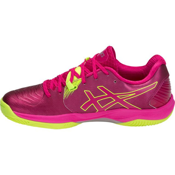 Asics Gel Blast FF Women's Indoor Court Shoe (Pink/Silver) - RacquetGuys