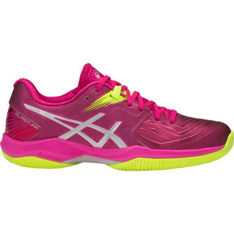 Asics Gel Blast FF Women's Indoor Court Shoe (Pink/Silver) - RacquetGuys.ca