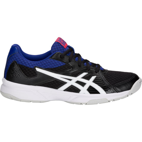 Asics Gel Upcourt 3 Women's Indoor Court Shoe (Black/White) - RacquetGuys