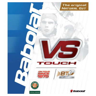 Babolat VS Touch Natural Gut 16 Tennis String (Natural) - RacquetGuys