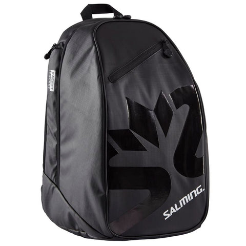 Salming Multi Sport Backpack Racquet Bag (Black) - RacquetGuys
