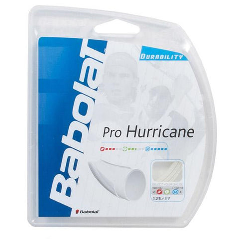 Babolat Pro Hurricane 17 Tennis String (Natural) - RacquetGuys.ca