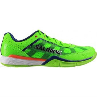 Salming Viper 2.0 Mens Indoor Court Shoe (Green) - RacquetGuys