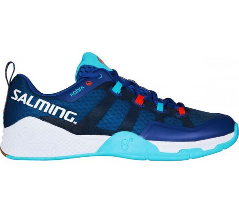 Salming Kobra 2 Mens Indoor Court Shoe (Limoges Blue/Blue Atol) - RacquetGuys